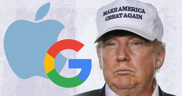 Google được hưởng lợi về thuế từ Donald Trump