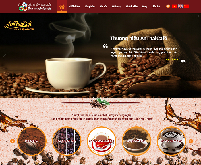 Thiết kế website phẳng