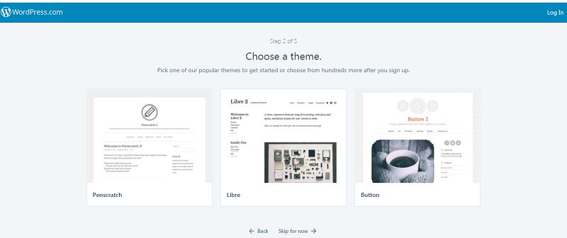 Đăng ký tạp website Wordpress (Bước 2)