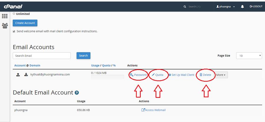 Hướng dẫn cách tạo mail trên Email Server Linux