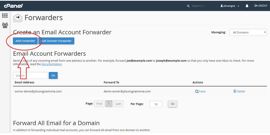 Hướng dẫn cài đặt chuyển tiếp email trên Server Mail Linux