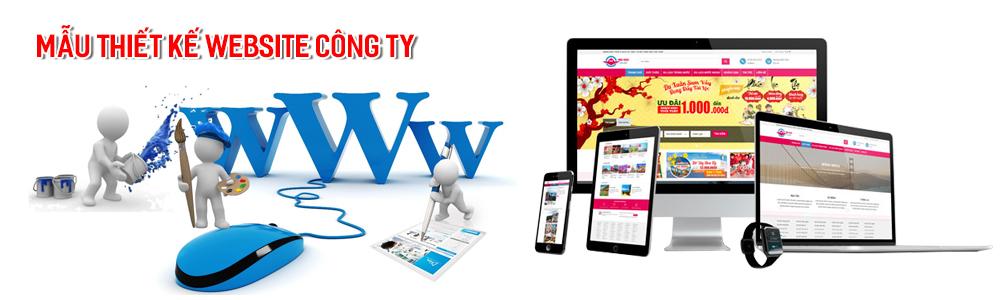 Mẫu website công ty doanh nghiệp