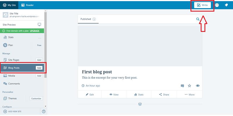 Tạo website Wordpress