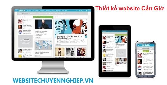 Thiết kế website huyện Cần Giờ