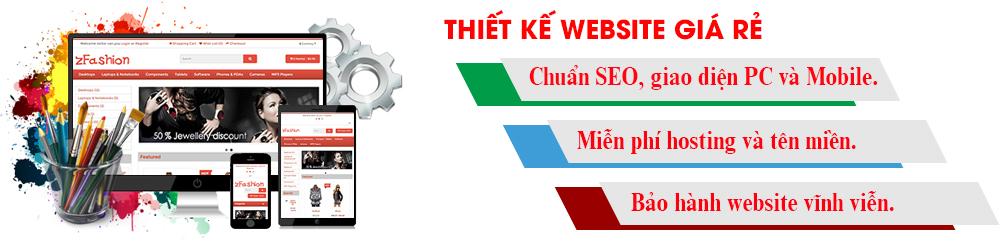 Công ty thiết kế web giá rẻ ở TPHCM