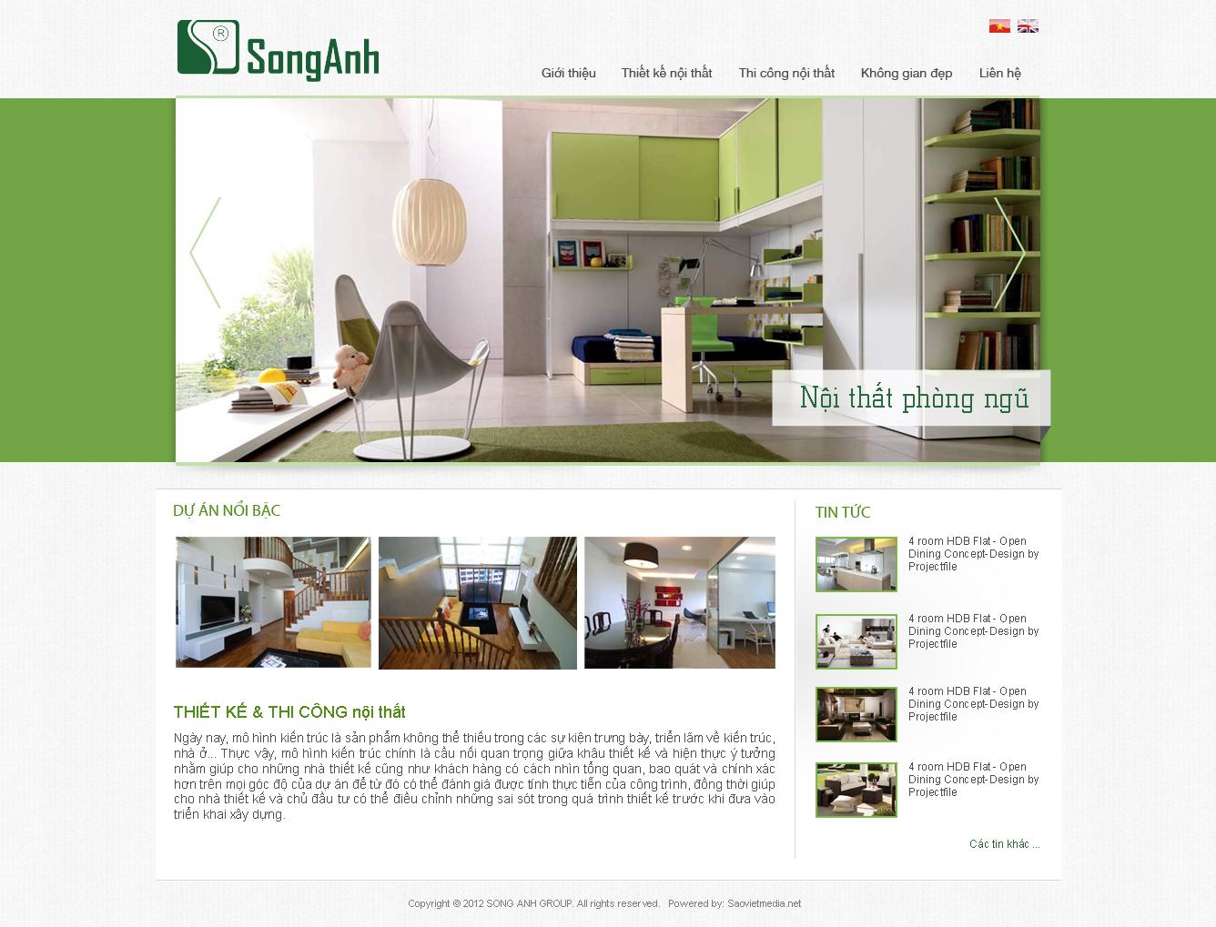 Kết quả hình ảnh cho thiết kế website nội thất