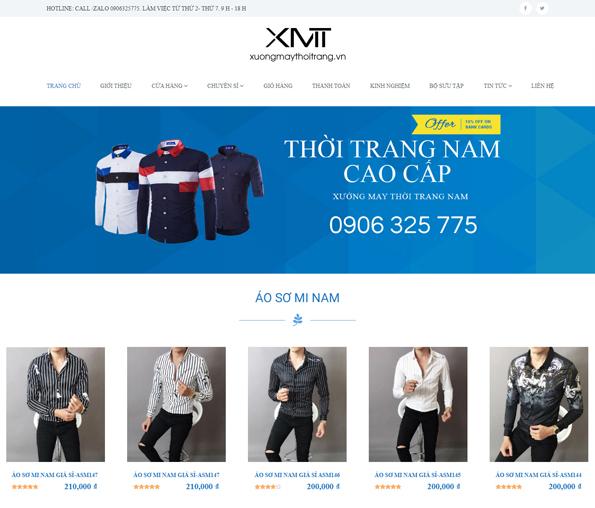 Thiết kế website shop thời trang