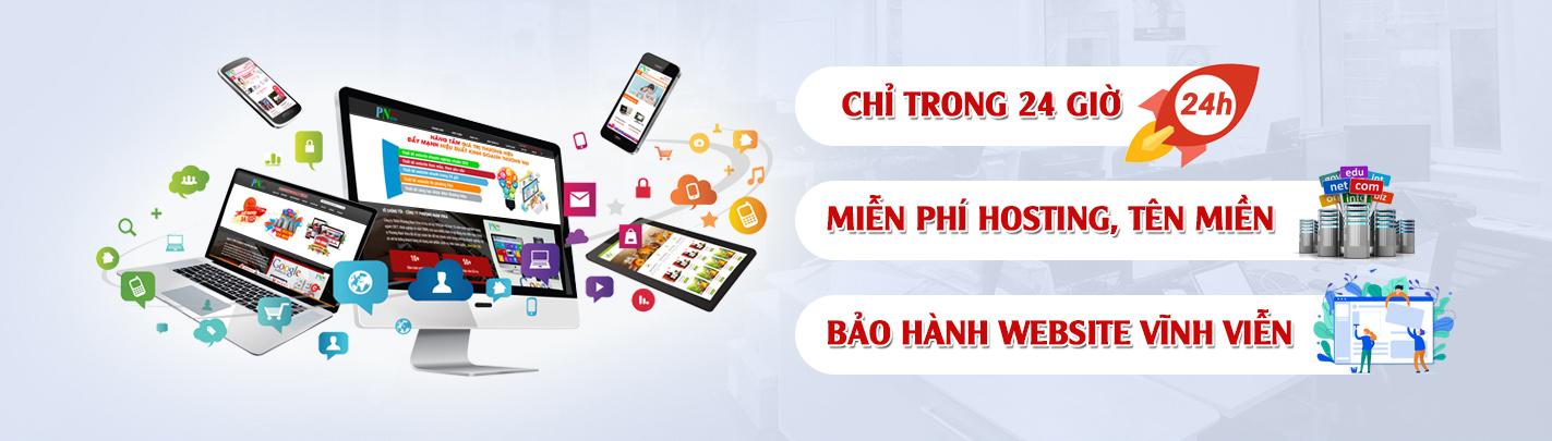 Thiết kế website tại Vĩnh Phúc - 1