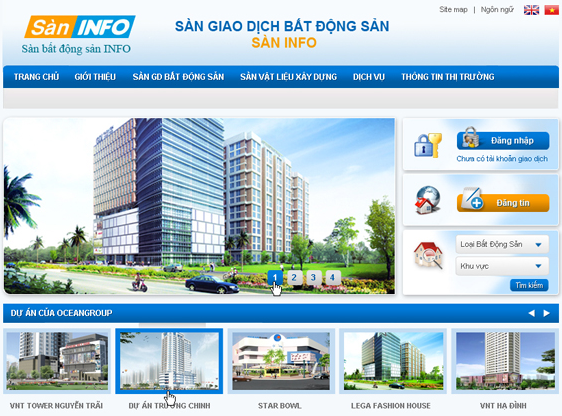 Công ty thiết kế website bất động sản uy tín tại Hà Nội