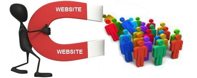 Website giúp thu hút khách hàng