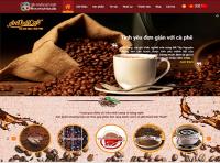 Mẫu website tập đoàn cà phê An Thái - MS14