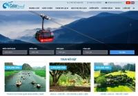 Mẫu website công ty du lịch - MS17
