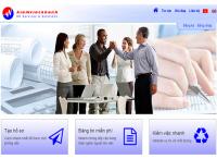 Mẫu website tuyển dụng việc làm - MS10