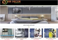 Mẫu website bán hàng nội thất - MS52