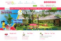 Mẫu website bán hàng hoa - MS51