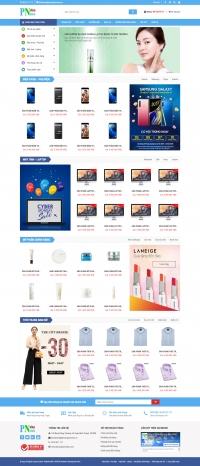 Giao diện web bán hàng đẹp