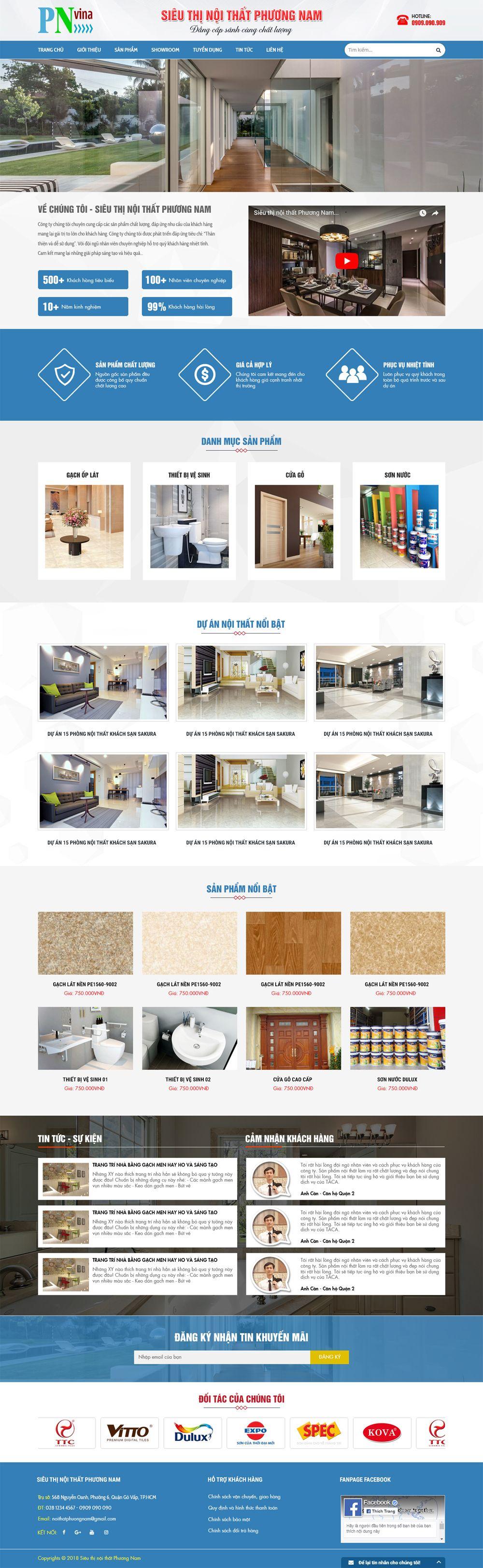 MS17 - Giao diện web bán hàng