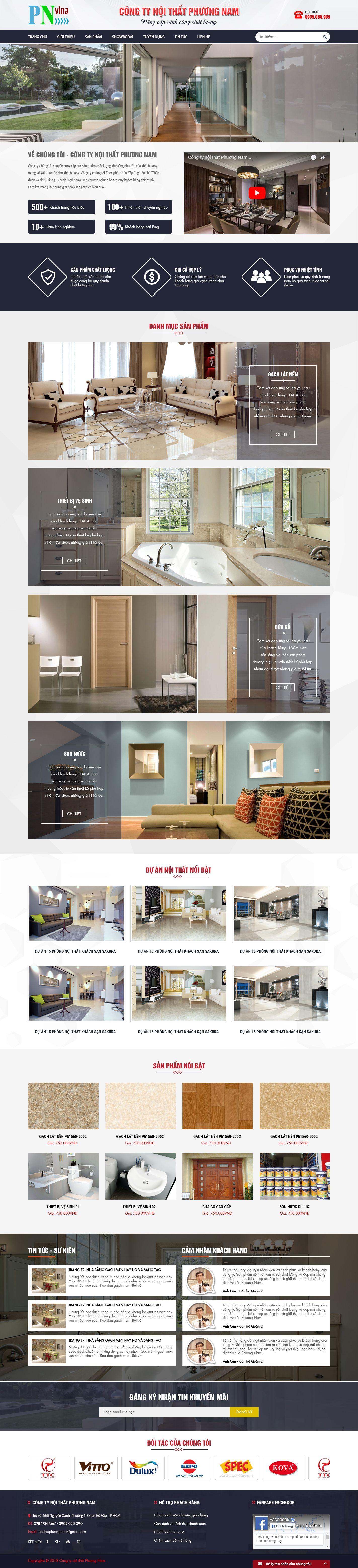 MS21 - Mẫu giao diện website bán hàng
