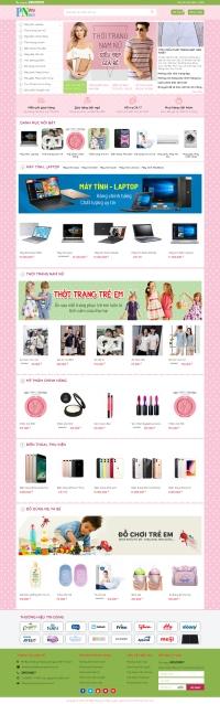 Mẫu website bán hàng đẹp