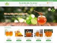 Mẫu website bán hàng nông sản - MS41