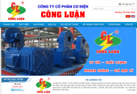 Mẫu website công ty cơ điện lạnh - MS53