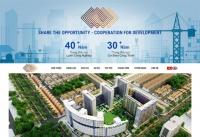 Mẫu website công ty cơ điện lạnh - MS56