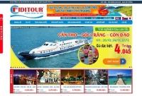 Mẫu website công ty du lịch - MS46