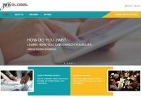 Mẫu web doanh nghiệp nước ngoài - MS15