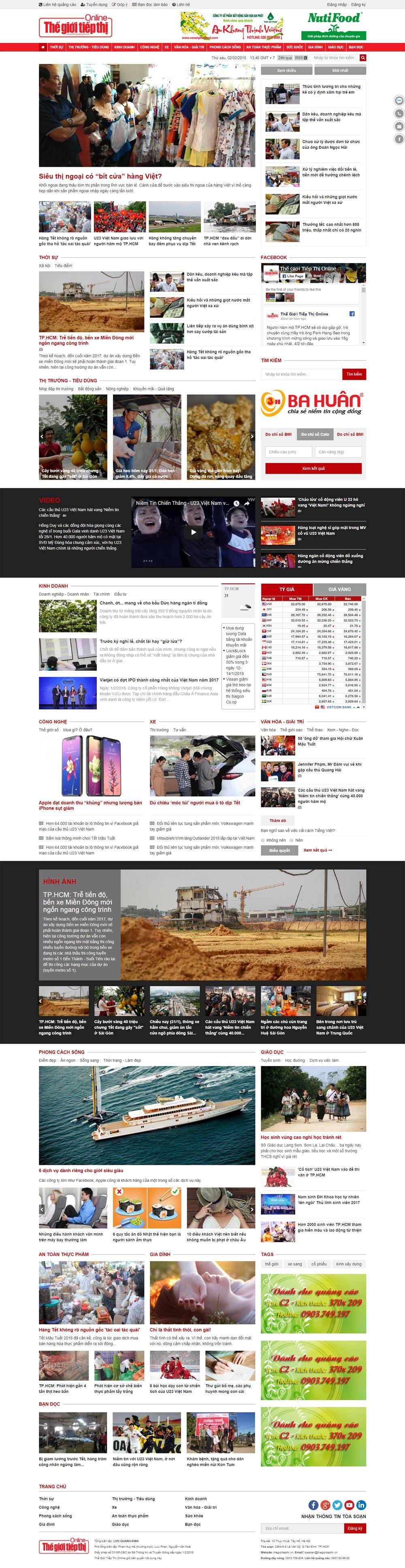 Mẫu website công ty truyền thông