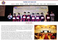 Mẫu website trường học THPT - MS21