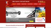 Thiết kế website kế toán