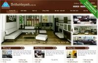 Thiết kế website nội thất ngoại thất
