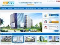 Thiết kế website bất động sản nhà đất