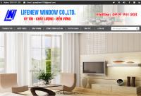 Mẫu website công ty Nội Thất - MS07